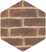 York Handmade Hunsingore 50mm Brick